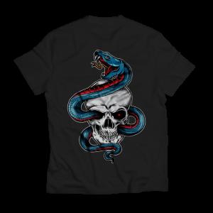 Skull Snake Island Shirt